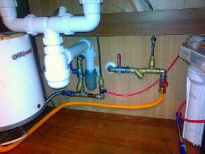 Замена водопроводных труб в квартире