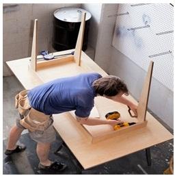 Сборка столов по низким ценам в Пскове от специалистов